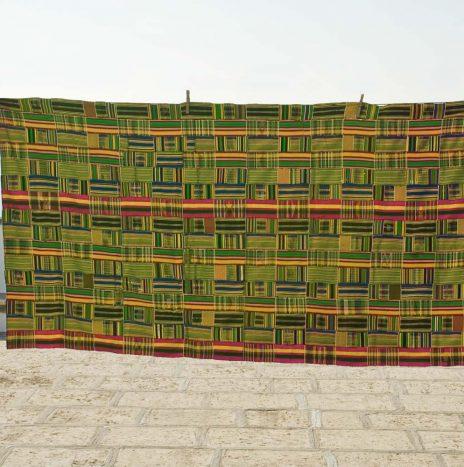 15 – Ghana ewe silk-cotton 1930s