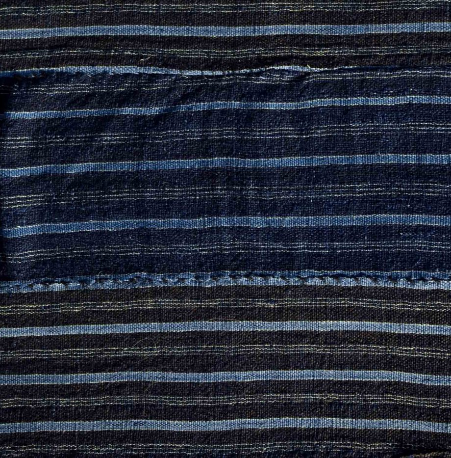 D71-Nigerian-Antique-indigo-shawl 2