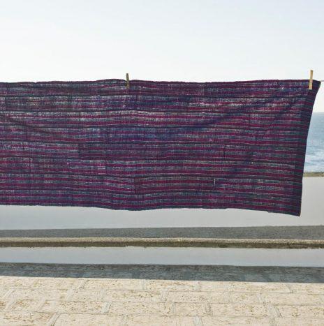 D87 Nigerian Indigo shawl 1950s