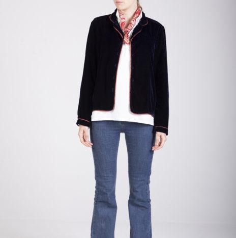 Velvet PJ Jacket