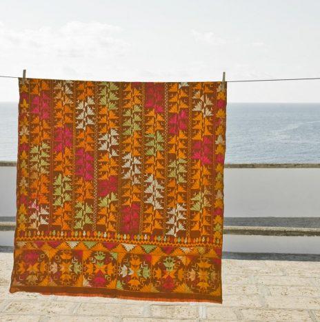 D16 Indian Bagh wedding shawl 1930s