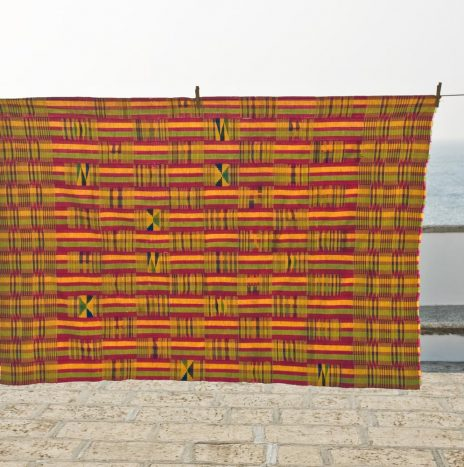 Ghana ewe silk 7 cotton 1930s