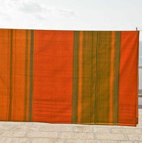 Handwoven bedcover