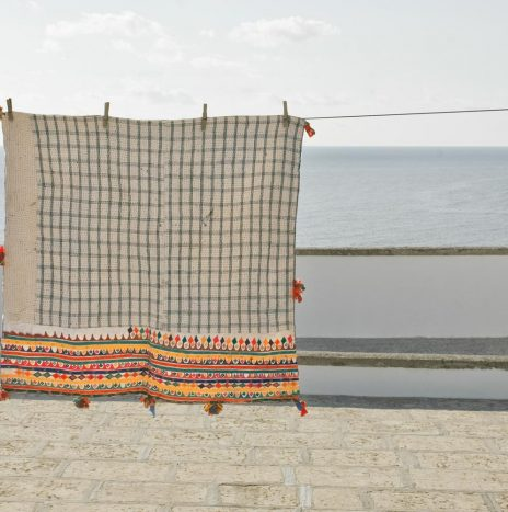 Indian gujarat antique pillowcase