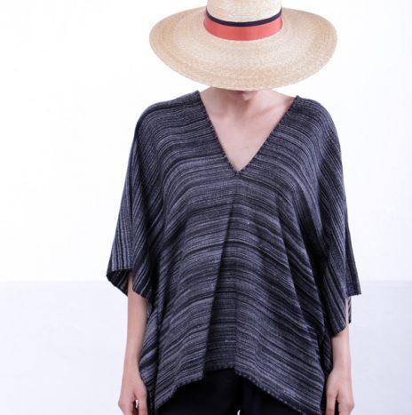 Puebla Wool Poncho