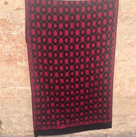 Antique Silk Embroidered Swat Valley Pakistan  N. 1