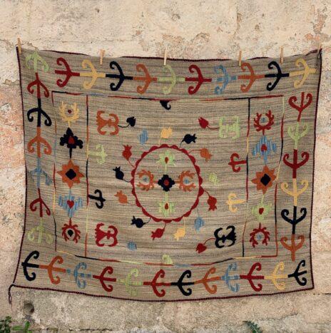 Suzani Afghani Rugs 1