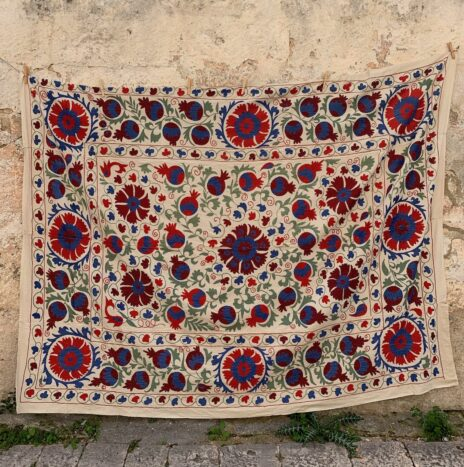 Antique Large Afghani Suzani N. 1